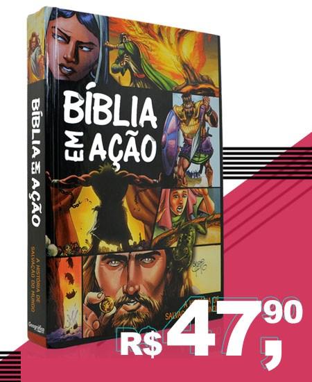 Bíblia Em ação Capa dura