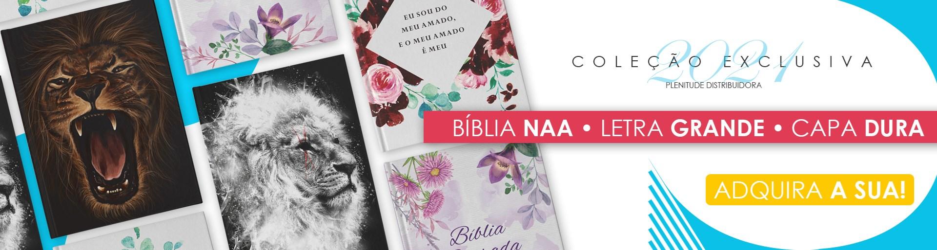 Bíblia NAA Letra Grande Plenitude Distribuidora