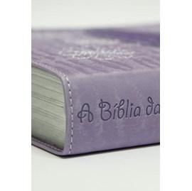 A Bíblia da Garota de Fé | NTLH | Roxa
