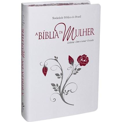A Bíblia da Mulher | Letra Normal | ARA | Capa Branca Luxo Grande