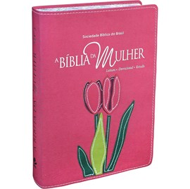 A Bíblia da Mulher | Letra Normal | ARA | Capa Goiaba Luxo