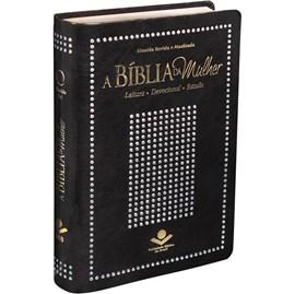 A Bíblia da Mulher | Letra Normal | ARA | Capa Preta Nobre Luxo