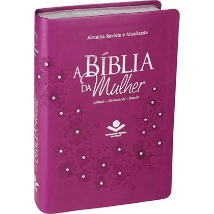 A Bíblia da Mulher | Letra Normal | ARA | Capa Vinho Luxo