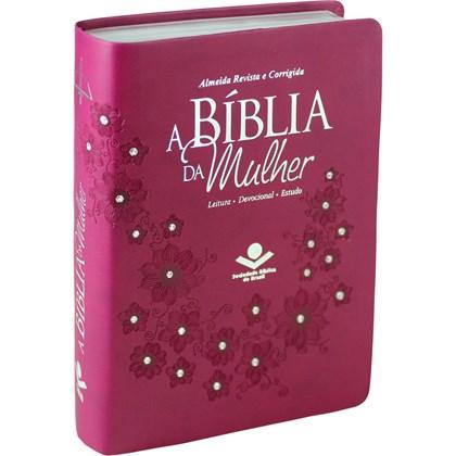 A Bíblia da Mulher | Letra Normal | ARC | Capa Vinho
