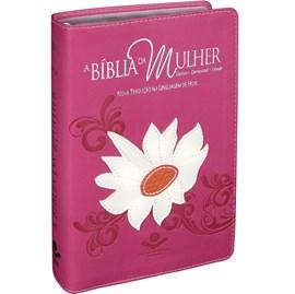 A Bíblia da Mulher | Letra Normal | NTLH | Capa Margarida Luxo | c/ Índice
