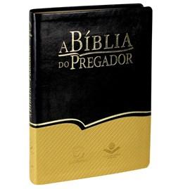 A Bíblia do Pregador | Letra Normal | ARA | Capa Flexível PU Preta/Dourada
