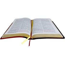 A Bíblia do Pregador | Letra Normal | ARC | Capa Marrom/Vermelha