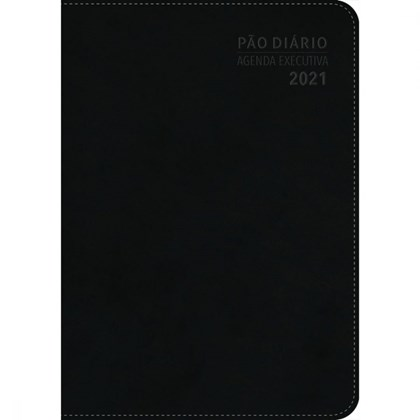 Agenda executiva 2021 | Capa Luxo Preta