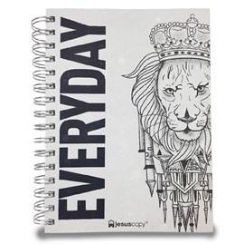 Agenda Permanente Leão | Jesus Copy | Capa Dura