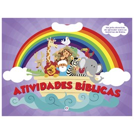 Atividades bíblicas | Médio | Capa Roxa
