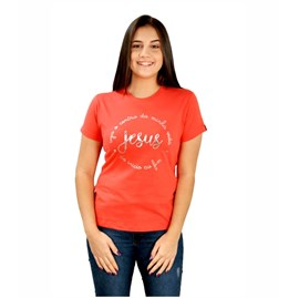 Baby Look Jesus O Centro | Goiaba | Pecado Zero | G