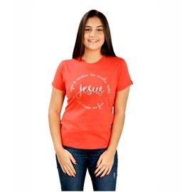 Baby Look Jesus O Centro | Goiaba | Pecado Zero | GG