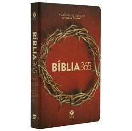 Bíblia 365 Coroa | NVT | Letra Normal | Capa Dura