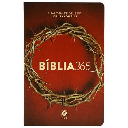 Bíblia 365 Coroa   NVT   Letra Normal   Capa Dura
