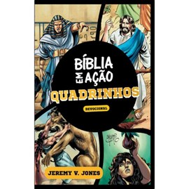 Bíblia Ação em Quadrinhos | Devocional | Jeremy V. Jones