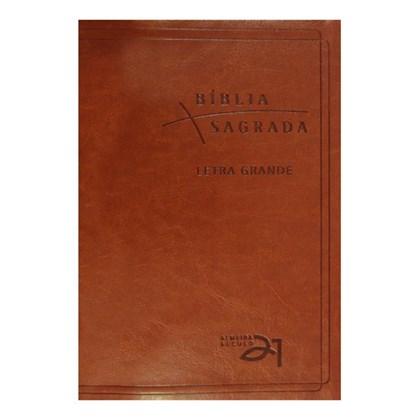 Bíblia Almeida Século 21 | A21 | Letra Grande | Marrom