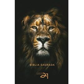 Bíblia Almeida Século 21   A21   Letra Média  Capa Dura   Leão de Judá
