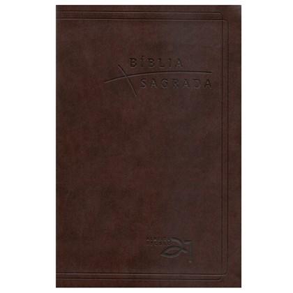 Bíblia Almeida Século 21 | A21 | Letra Normal | Capa Café C/ Referências Cruzadas