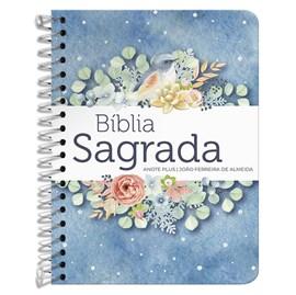 Bíblia Anote Espiral Plus Pontos de Luz Buquê | ARC | Letra Maior | Capa Dura