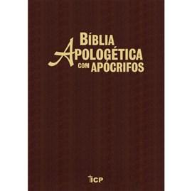 Bíblia Apologética com Apócrifos Marrom | Capa Luxo