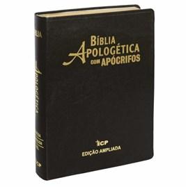 Bíblia Apologética com Apócrifos Preta | Capa Luxo