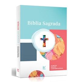 Bíblia Aquarela | Letra Normal | AEC | Capa Brochura