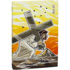 Bíblia Arte Sacrifício | Letra Normal NAA | Capa Dura
