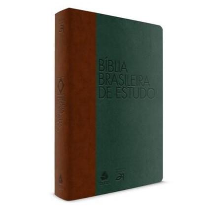 Bíblia Brasileira De Estudo | Verde e Marrom
