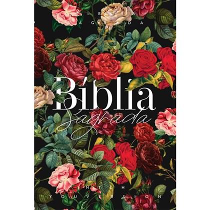 Bíblia Buquê de Rosas YouVersion | NTLH | Letra Grande | Capa Soft-Touch