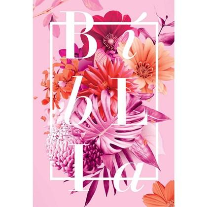 Bíblia Buque Rosa | NAA | Letra Normal | Capa Dura Ilustrada