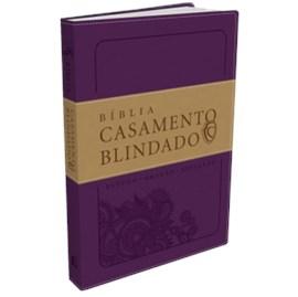 Bíblia Casamento Blindado | Capa Roxa