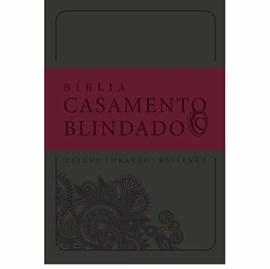 Bíblia Casamento Blindado | Cinza
