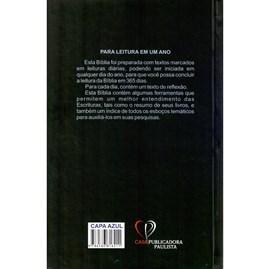 Bíblia com 365 Reflexões e Plano de Leitura | ARC | Hipergigante | Capa Dura