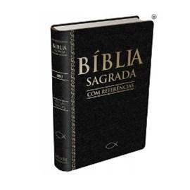 Bíblia com Referências | Letra Normal | SBU | Capa Preta