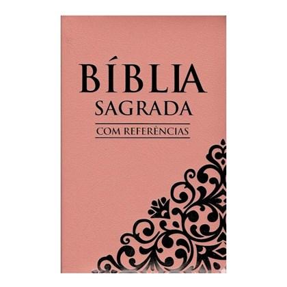 Bíblia com Referências | Letra Normal | SBU | Capa Rosa