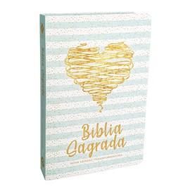 Bíblia Coração Brilhante | NVT | Letra Normal | Capa Dura Semi-Luxo