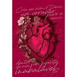 Bíblia Coração Puro | NAA | Letra Normal | Capa Dura Ilustrada