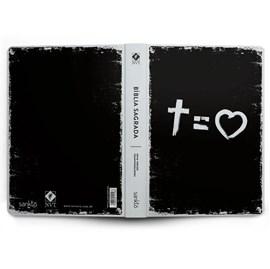 Bíblia Cross Equal Love   NVT   Letra Normal   Capa Dura