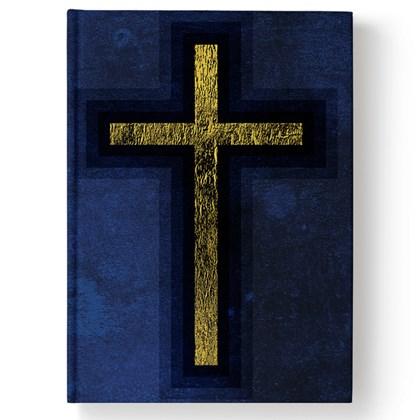 Bíblia Cruz Azul | NAA | Letra Normal | Capa Dura