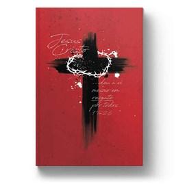 Bíblia Cruz de Cristo | NAA Letra normal | Capa Dura