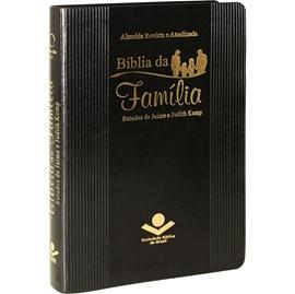 Bíblia da Família | Letra Normal | ARA | Capa Preta Luxo