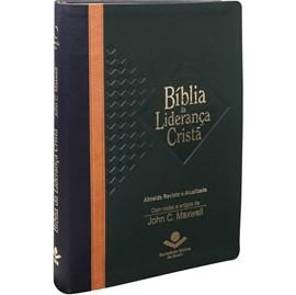 Bíblia da Liderança Cristã | Letra Normal | ARA | Capa Verde e Marrom Luxo