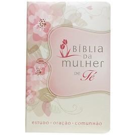 Bíblia da Mulher de Fé | Letra Normal | NVI | Flores