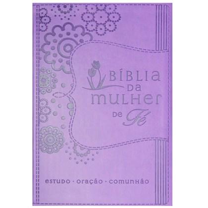Bíblia da Mulher de Fé | Letra Normal | NVI | Roxa