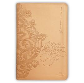 Bíblia da Mulher de Fé   NVI   Capa Dourada