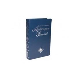 Bíblia de Estudo Aplicação Pessoal Grande | Letra Normal ARC | Azul e Prata