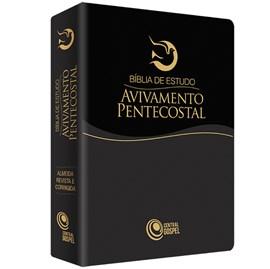 Bíblia de Estudo Avivamento Pentecostal   ARC   Preta