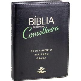 Bíblia de estudo Conselheira | NAA | Luxo Preta