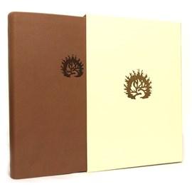 Bíblia de Estudo da Fé Reformada | ARA | Capa Luxo Marrom com Estojo