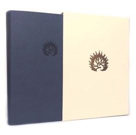 Bíblia de Estudo da Fé Reformada | ARA | Letra Grande | Capa Luxo Azul com Estojo